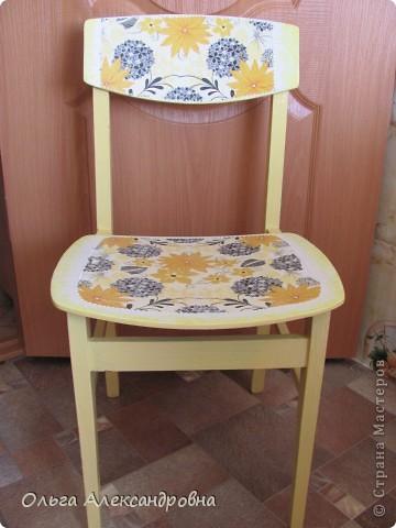 Продолжаю благоустраивать дачу. Вот такие стульчики у меня получились из стульев советских времен.  фото 3