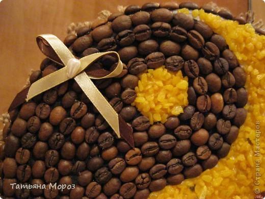 Вот такая кофейная ЛЮБОФФФФ ....Сердце и символ Инь-Ян фото 12