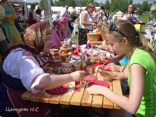 Доброго времени суток МОИ ДОРОГИЕ!!!!! Приглашая Вас на фестиваль славянского искусства РУССКОЕ ПОЛЕ в Коломенском.  Это просто рай для рукодельниц.  фото 7