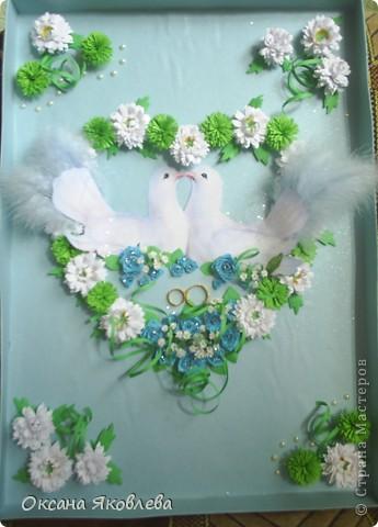 Увидев эту картинку, у меня родилась идея сделать таких голубей на свадьбу))) фото 22