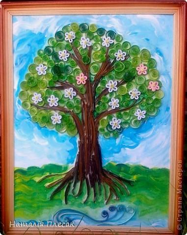 А эту картинку Оксанка делала сама ,начиная с рисунка. фото 6
