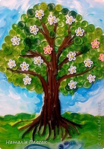 А эту картинку Оксанка делала сама ,начиная с рисунка. фото 5