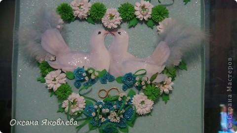 Увидев эту картинку, у меня родилась идея сделать таких голубей на свадьбу))) фото 18
