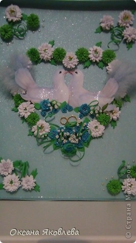 Увидев эту картинку, у меня родилась идея сделать таких голубей на свадьбу))) фото 21
