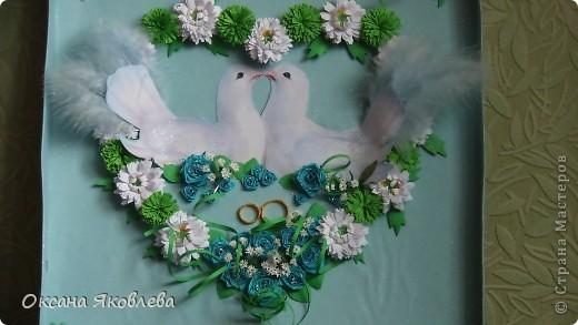 Увидев эту картинку, у меня родилась идея сделать таких голубей на свадьбу))) фото 19
