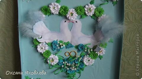 Увидев эту картинку, у меня родилась идея сделать таких голубей на свадьбу))) фото 16