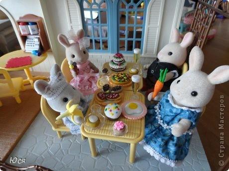 Заячий праздник за общим столом. фото 1