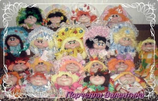 Приветствую всех!!!!Поздравляю всех с Праздником Семьи!!!Всем ЛЮБВИ,ВЕРНОСТИ,СЧАСТЬЯ И ВЗАИМОПОНИМАНИЯ!!!!!У нас сегодня выставка.Я основательно подготовилась))))20 кукол нашила.Руки болят))) фото 1