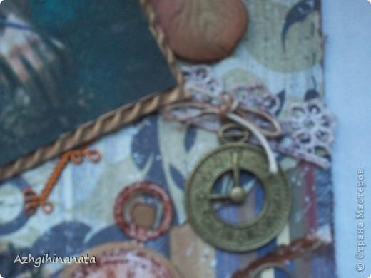 И все таки я ее сделала. Правда скраплифтингнула у Анны Плюшаковой (Заложница снов) http://vplenuidei.blogspot.com/2012/05/blog-post_11.html?showComment=1336751132366#c2232975565456305090. Очень толковый и подробный мастер класс. Огромное ей спасибо.  фото 4