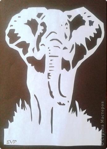 """Вырезала Африканский """"триптих"""". Все шаблоны брала в Стране мастеров!!! Большое Всем СПАСИБО!!!  фото 4"""