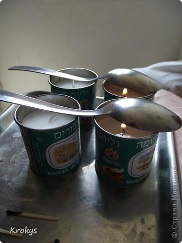Свечи - самая романтичная вещь интерьера, которой можно придать ещё и индивидуальность.   Предлагаю сделать такие :   фото 3