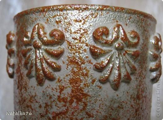 Доброго времени суток, жители Страны мастеров !!! Представляю вашему вниманию декупаж стеклянной вазы: фото 4