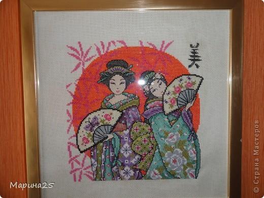 Японки крестиком фото 1