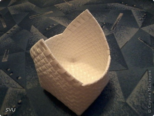 Мастер-класс Плетение Плетение корзинки из упаковочной полипропиленовой стреппинг ленты Полиэтилен фото 36