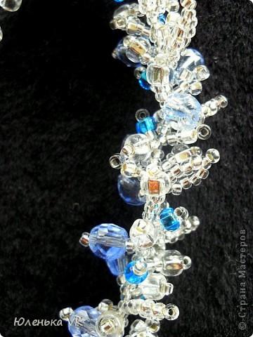 Для изготовления этого браслета был использован чешский бисер различных размеров и бусины чешского стекла. фото 3