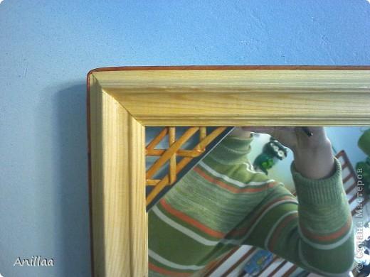 обычное шестиугольное зеркало обрело новую рамку. фото 3