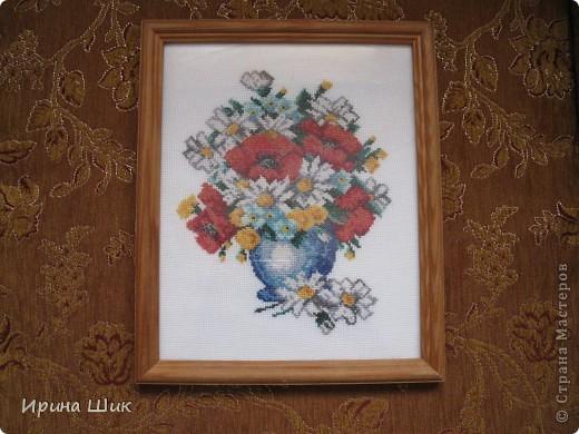 Букет полевых цветов фото 1