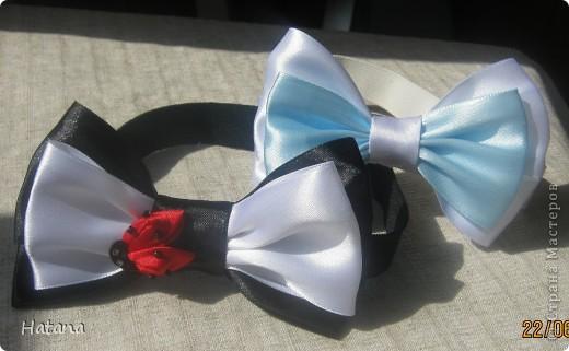 Для вечно обделённых пацанов сотворились вот такие галстук-бабочки.  Идея не моя, подсмотрена в интернетею фото 1