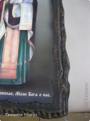 ИМИТАЦИЯ СТАРИННОГО ОКЛАДА ИКОНЫ фото 9