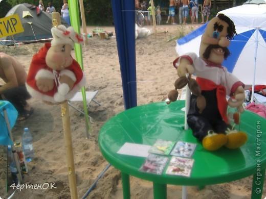 Продолжение фоторепортажа с фестиваля песчаных фигур. Начало тут http://stranamasterov.ru/node/388387. Фотографировала только большие скульптуры. Было еще штук 15 маленьких, детских скульптур. фото 5