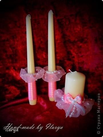 Декор предметов Свадьба Шитьё Wedding Hand-made комплекты Бисер Бусинки Клей Кружево Ленты фото 3.