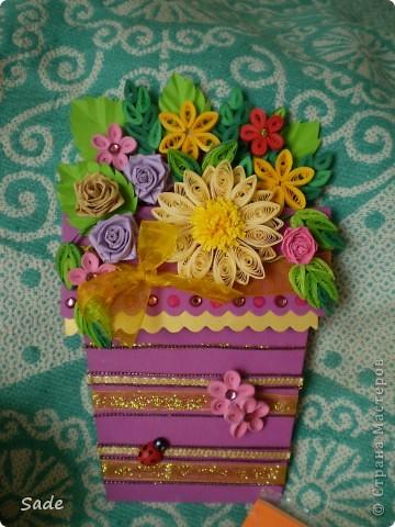 цветочные фантазии на скорую руку х) фото 5