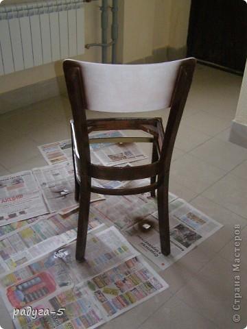 Не знаю, можно ли мои объяснение назвать мастер-классом, но я старалась более подробно показать и описать, как переделываю стул....Всем, кто заглянул большое спасибо фото 4