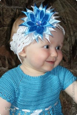Для меня праздником, когда невероятно приятно дарить подарки, стало рождение у друзей доченьки! Связала для юной красавицы вот такую шапочку (МК есть у меня в блоге https://stranamasterov.ru/node/147235) фото 11