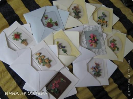 Хочу представить вам серию открыток под пластиковым окошком. Очень удобно, бумага не мнётся и не пачкается фото 1