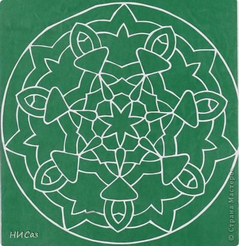 Картина панно рисунок Вырезание Мандалы Бумага фото 11.