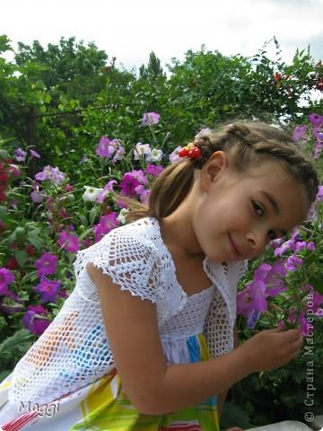 Кофточка-болеро на лето. фото 3