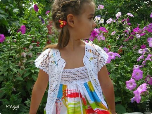 Вязание кофточки для девочки 2 лет крючком