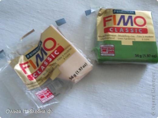 """Решила попробовать лепку из полимерной глины """"Fimo"""". фото 1"""