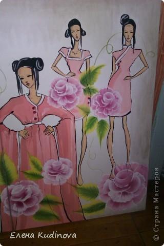 Коллекция костюмов с использованием китайской росписи. Формат 80*120 фото 3