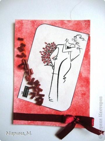 """Новая серия АТС """"Он и она"""" состоит из семи карточек. В работе использовала рисунки Тая Уилсона. фото 4"""