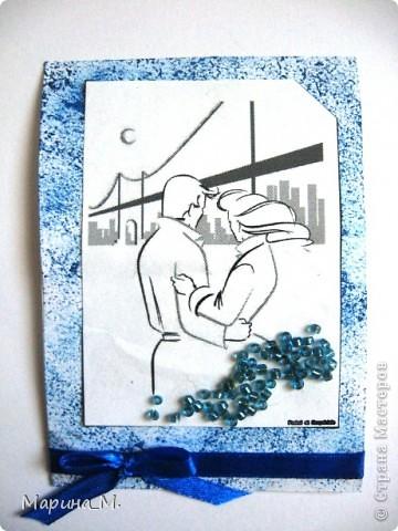 """Новая серия АТС """"Он и она"""" состоит из семи карточек. В работе использовала рисунки Тая Уилсона. фото 5"""