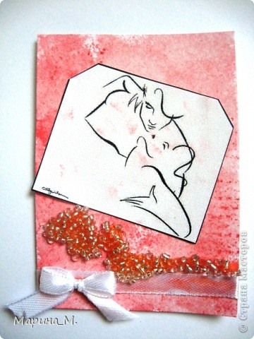 """Новая серия АТС """"Он и она"""" состоит из семи карточек. В работе использовала рисунки Тая Уилсона. фото 7"""
