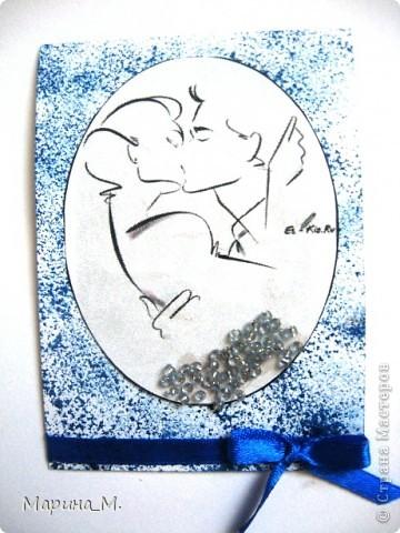"""Новая серия АТС """"Он и она"""" состоит из семи карточек. В работе использовала рисунки Тая Уилсона. фото 8"""