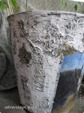"""Это будет """"сосуд"""" для поленьев для камина (печки). А было девятилитровое ведро оцинкованное. фото 4"""