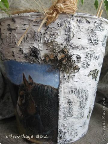 """Это будет """"сосуд"""" для поленьев для камина (печки). А было девятилитровое ведро оцинкованное. фото 6"""
