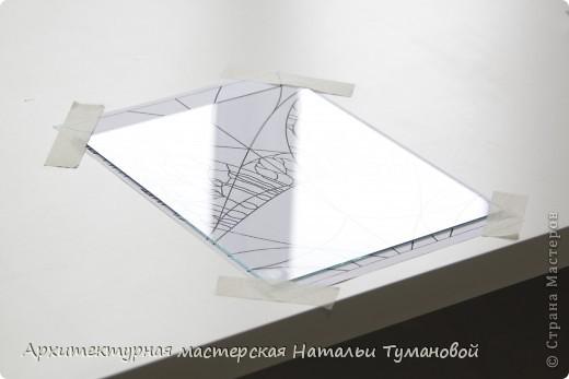 Используемые материалы:  1. Краски по стеклу: Idea Vetro (Maimery, Италия), Vitral (Lefranc Bourgeous, Франция), Витраж (Россия) 2. Линер Faber Castell Ecco Pigment 0,1 3. Контур по стеклу Idea (Miamery) 4. Кисть синтетическая №0,0 или №00,0 5. Защитный лак для красок по стеклу №715 Idea Vetro (Maimery, Италия), который позволяет защитить работу от воздействия влаги и моющих средств 6. Разбавитель глянцевый для красок по стеклу Idea Vetro №700 — делает краску светлее, но не влияет на ее консистенцию 7. Керамическая палитра 8. Канцелярский нож 9. Ватные палочки 10. Английская булавка Купить витражные краски и остальные материалы можно в любом магазине художественных товаров.  фото 3