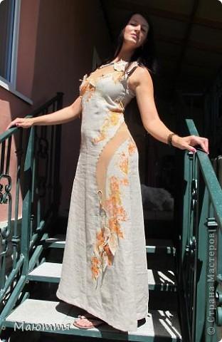 Платье сшилось уже давно, но не было модели, чтоб сфотать и вам показать фото 5