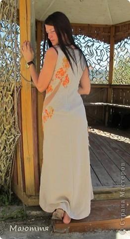Платье сшилось уже давно, но не было модели, чтоб сфотать и вам показать фото 1