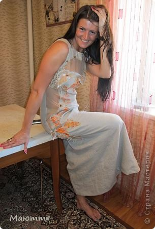 Платье сшилось уже давно, но не было модели, чтоб сфотать и вам показать фото 2