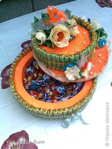 Мой первый тортик ко Дню рождения сестре фото 6