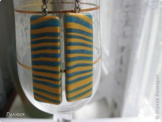 Кулон с  использованием  штампа, тонирован акриловой золотой краской. фото 20