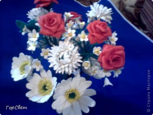 Вот такие букеты сделала на день рождения мамочке. фото 3