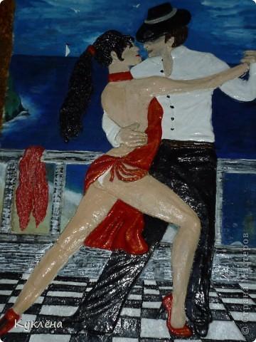 У нее мечта научится танцевать Аргентинское танго! вот нашла в интернете картинку и слепила ей в подарок!!! фото 2