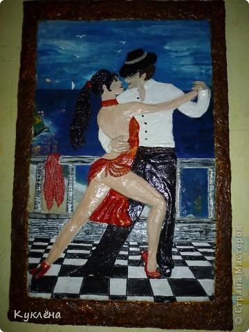 У нее мечта научится танцевать Аргентинское танго! вот нашла в интернете картинку и слепила ей в подарок!!! фото 3