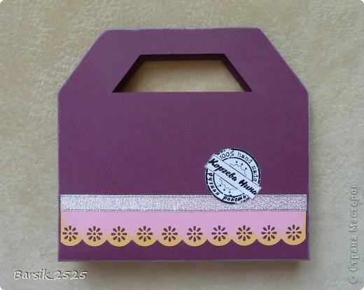 На такую сумочку для сладкого меня вдохновила Альбина Уфа - http://stranamasterov.ru/node/320605?c=favorite Долго не решалась сделать нечто подобное, а тут и повод нашёлся - идём в гости к родственникам. Выставляю на Ваш суд мою сумочку. фото 2